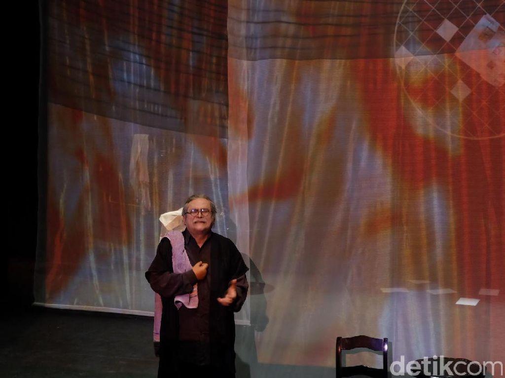 Slamet Rahardjo Bergabung di Pertunjukan Amangkurat Amangkurat