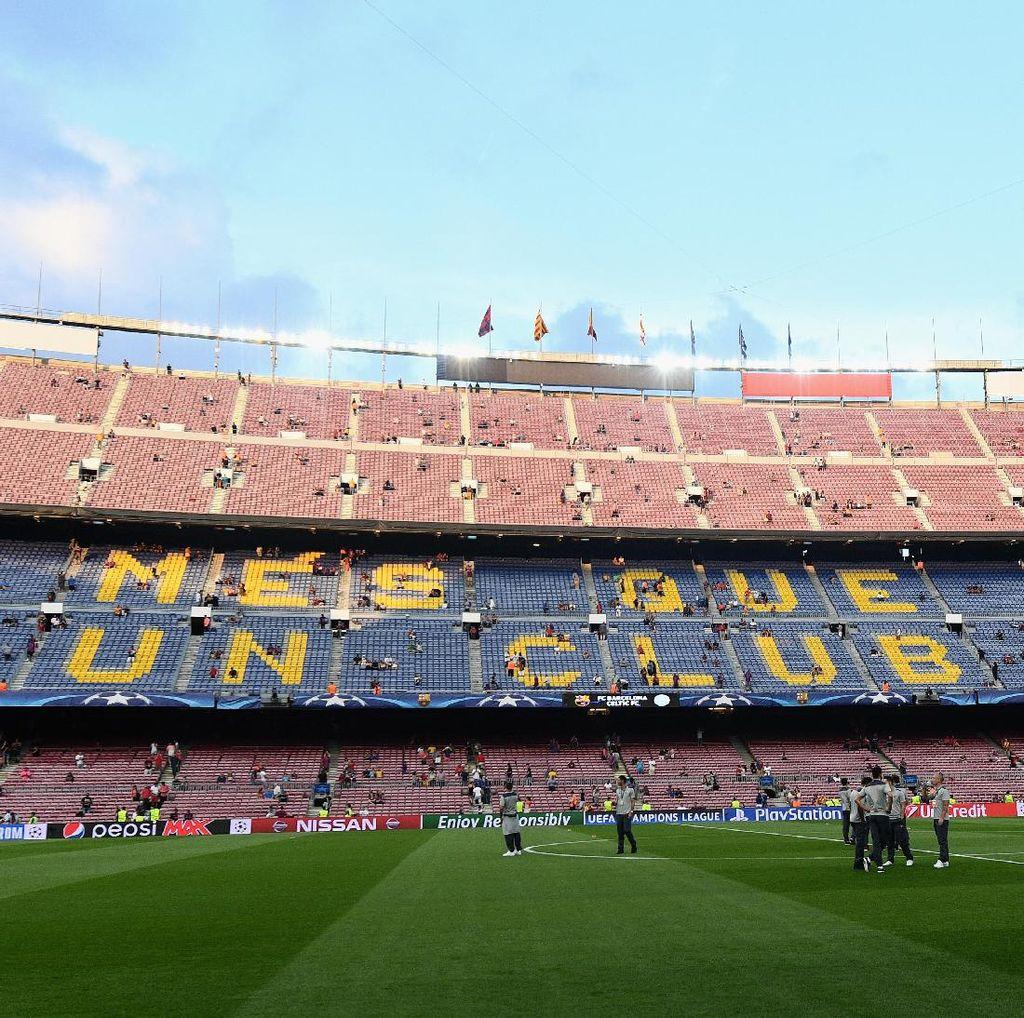 Desember Ceria untuk Barcelona di Camp Nou
