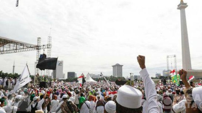 Aksi 2 Desember Berjalan Tertib, PDIP: Kita Ekspor Wajah Islam Damai ke Dunia