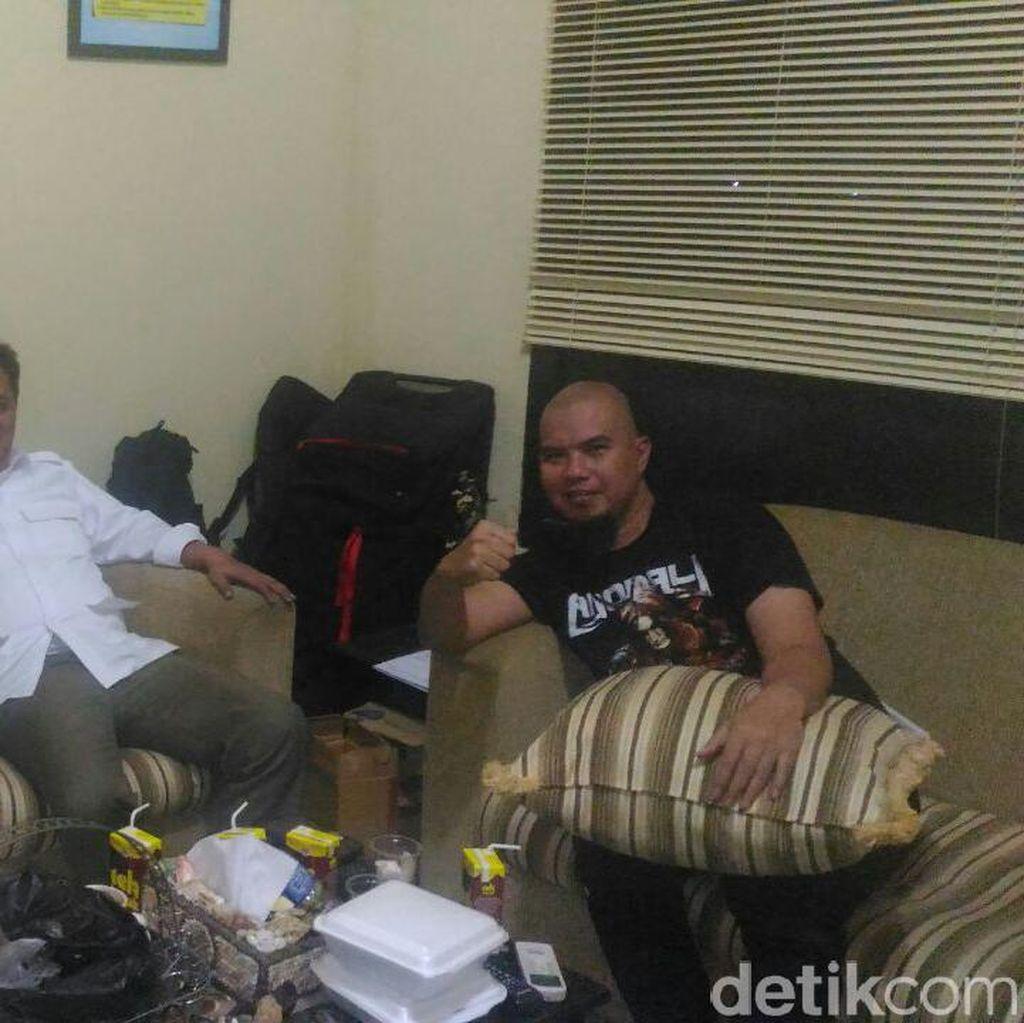 Ahmad Dhani Dijemput Polisi, Jupe-Depe Akhirnya Damai