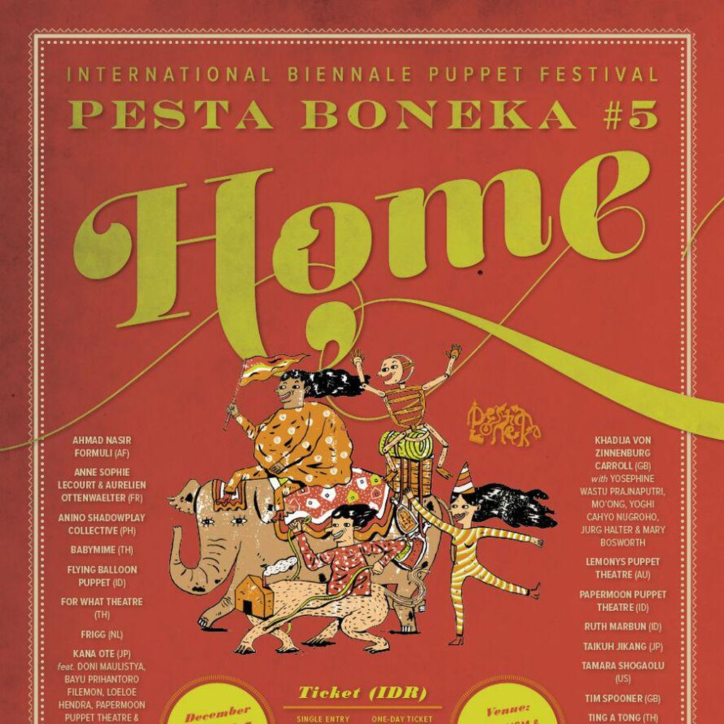 Tiga Alasan Wajib ke Festival Pesta Boneka #5!