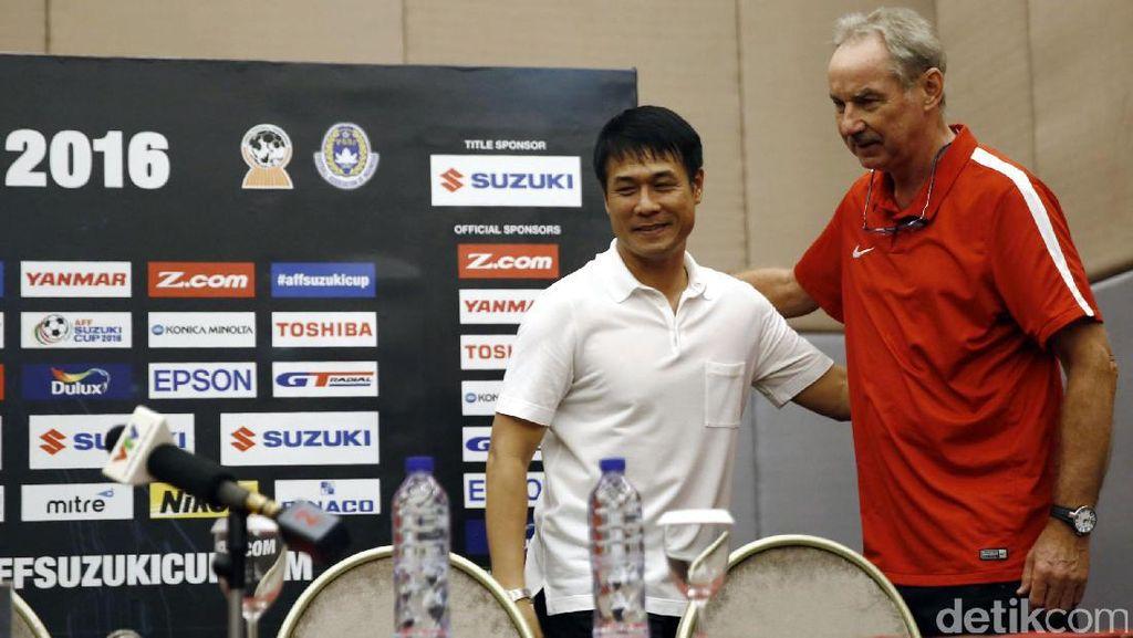 Permainan Indonesia Tak Bikin Kaget Pelatih Vietnam