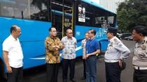 Menhub Cek Kesiapan Bus-bus Pengantar Peserta Aksi 2 Desember Pulang