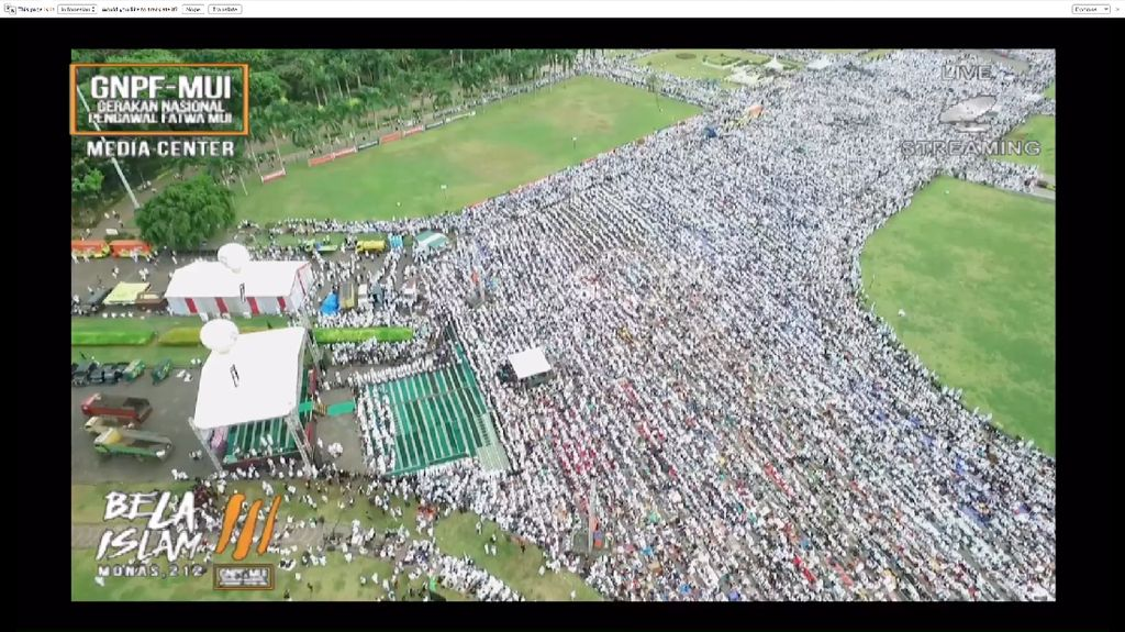 Aksi 2 Desember Berjalan Damai, GNPF MUI Tegaskan Akan Terus Kawal Kasus Ahok