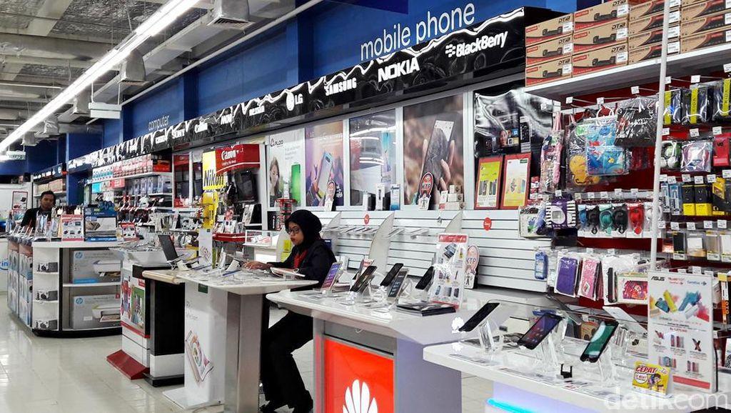 Transmart Carrefour Gelar Diskon 5% dan Cicilan 0% Smartphone