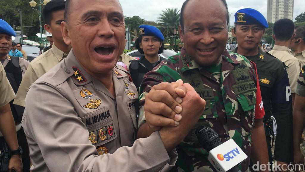 Patroli ke DPR, Pangdam Jaya: Terima Kasih, Tidak Ada Hambatan Apapun