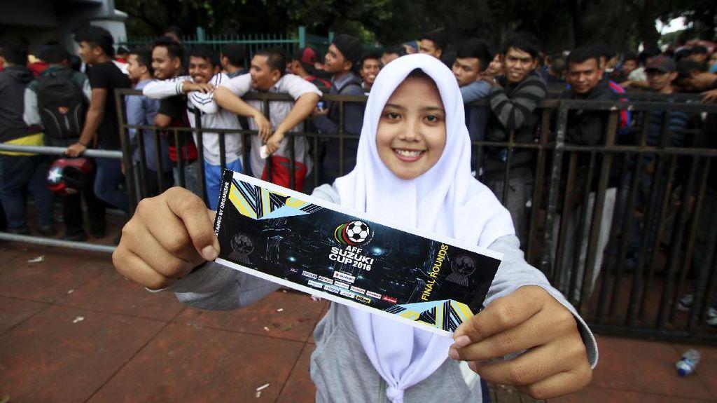 Belum Habis, Tiket Indonesia vs Vietnam Masih Bisa Dibeli Secara Online