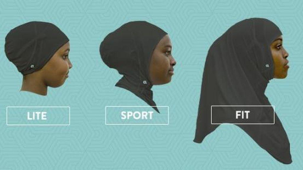 Wanita AS Ini Rilis Jilbab Instan untuk Atlet Berhijab, Seperti Apa?