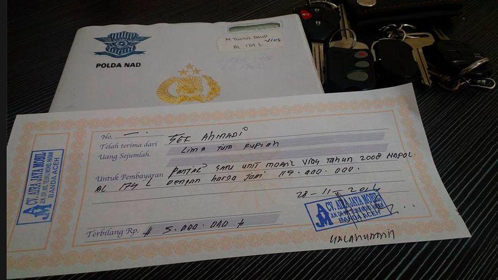 Demi Ikut Demo 212, Pria Asal Aceh Ini Rela Jual Mobilnya