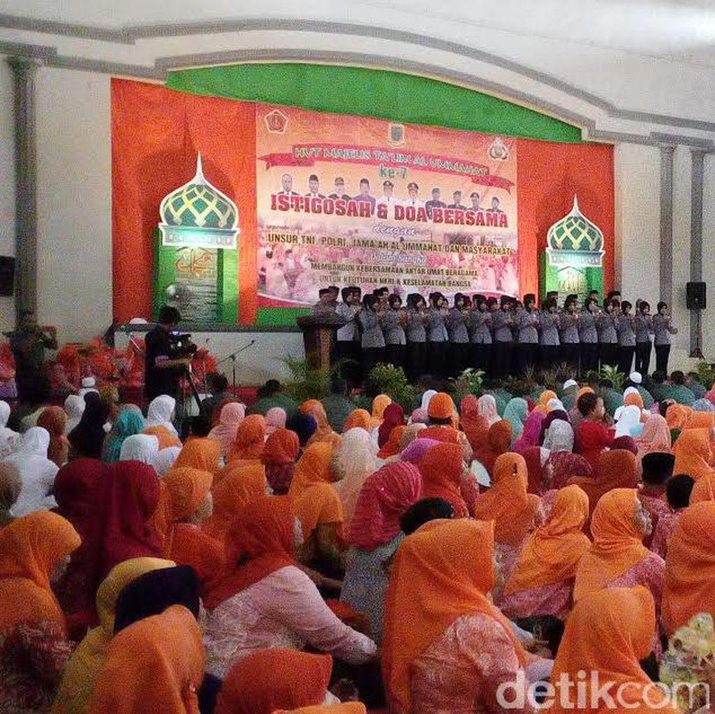 Aksi Bela Islam di Mojokerto Diwarnai Istighosah Akbar Hingga Turun Jalan