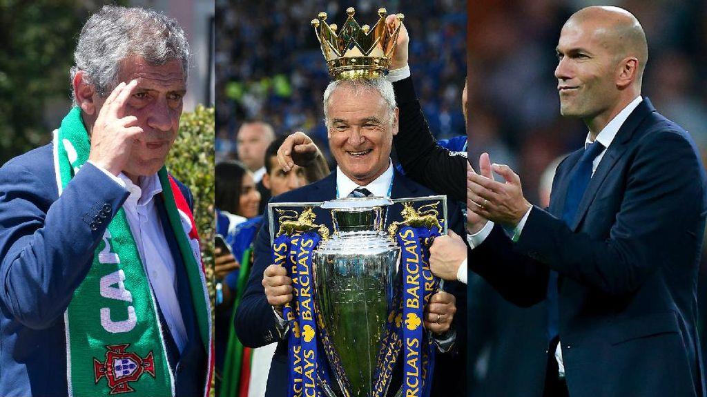 Ranieri, Santos, dan Zidane Jadi Finalis Pelatih Terbaik Dunia FIFA