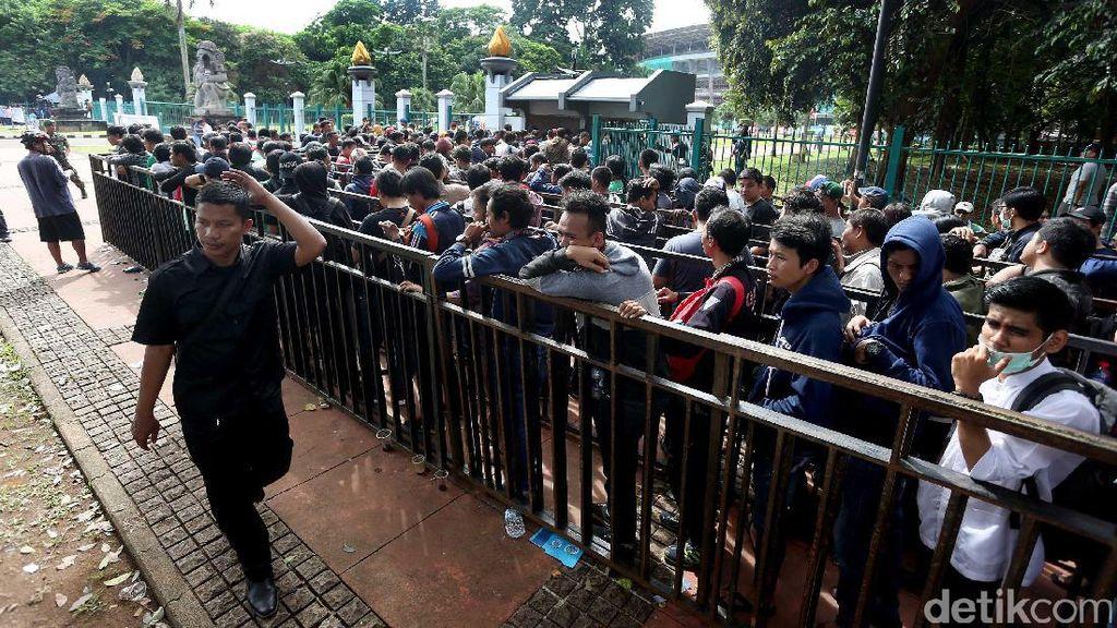 Jawaban PSSI Soal Tiket yang Cepat Habis dan Situasi di Stadion Persikabo