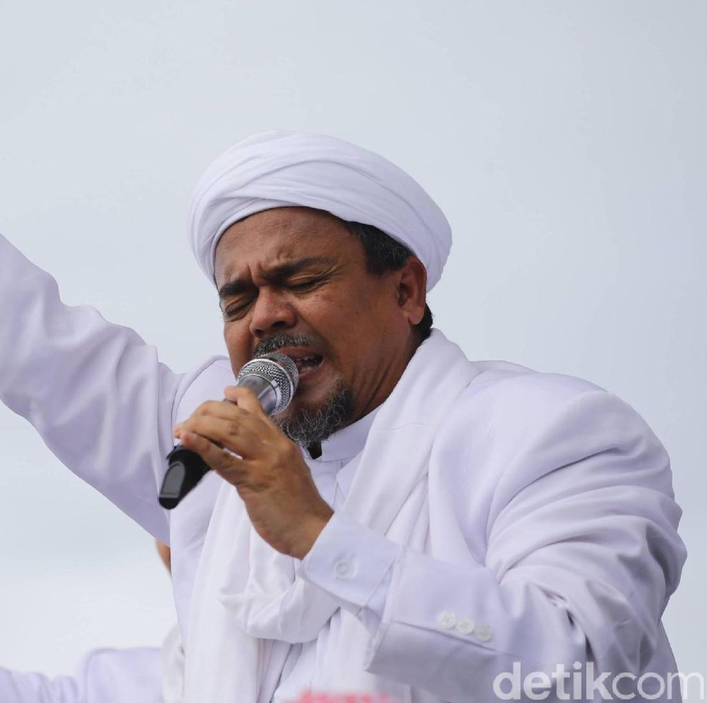 Habib Rizieq akan Ikut Salat Subuh Berjamaah 1212 di Masjid Pusdai Bandung