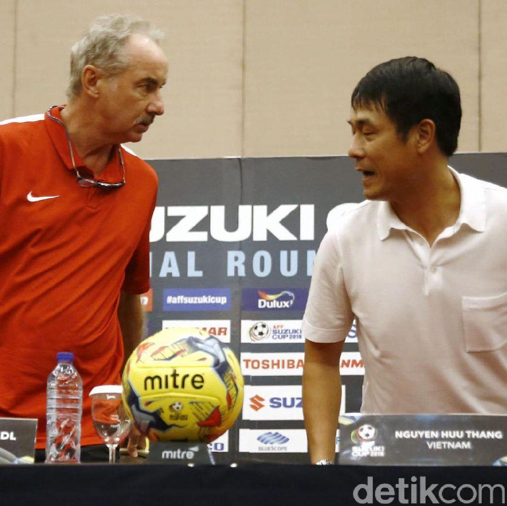 Pelatih Vietnam: Indonesia Semakin Kuat dari Laga ke Laga