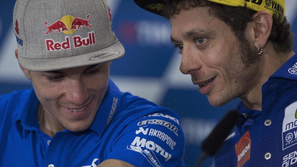 Yamaha Yakin Hubungan Rossi-Vinales Takkan Seperti Rossi-Lorenzo