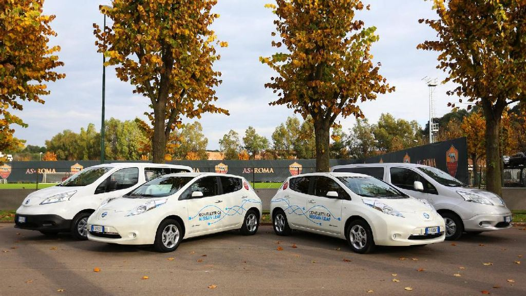 Genjot Jualan Mobil Listrik, Nissan Gandeng AS Roma