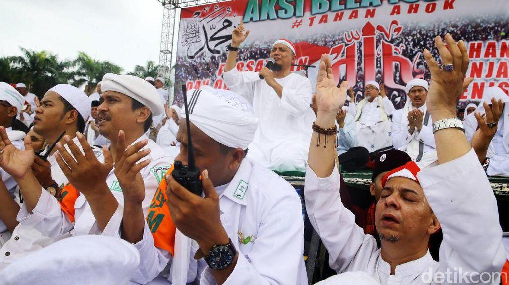 Habib Rizieq dan Arifin Ilham Pimpin Aksi 2 Desember