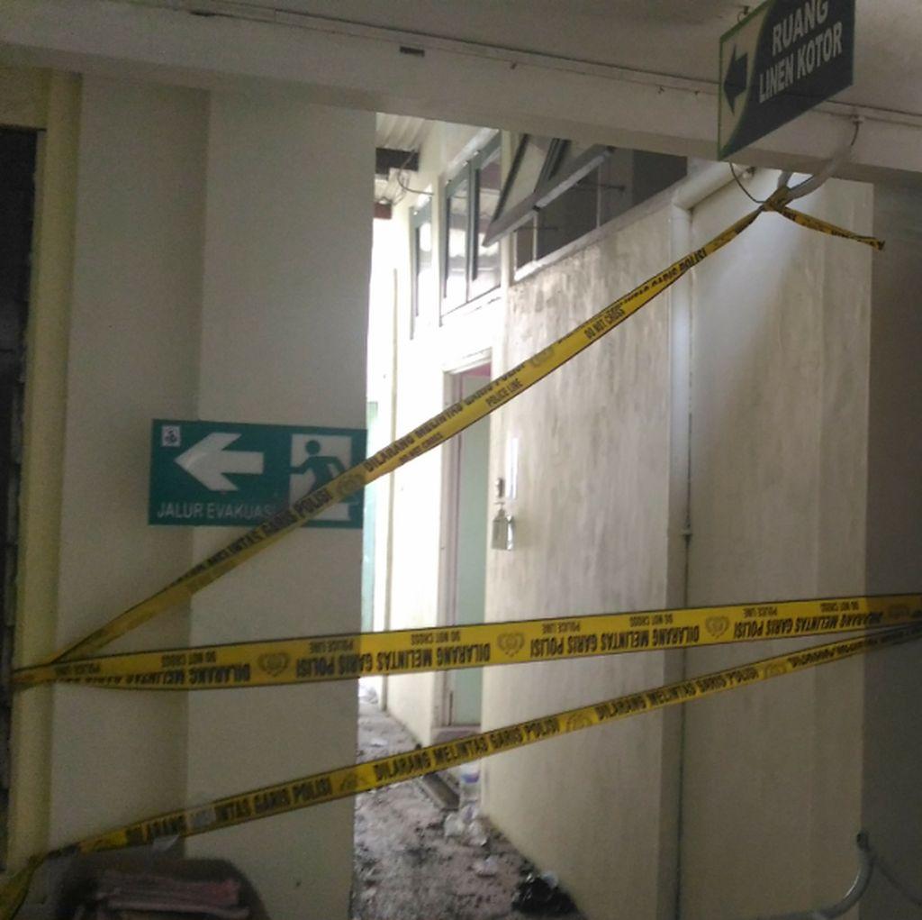 Penyebab Gudang Arsip RSI Surabaya Terbakar Diduga Korsleting