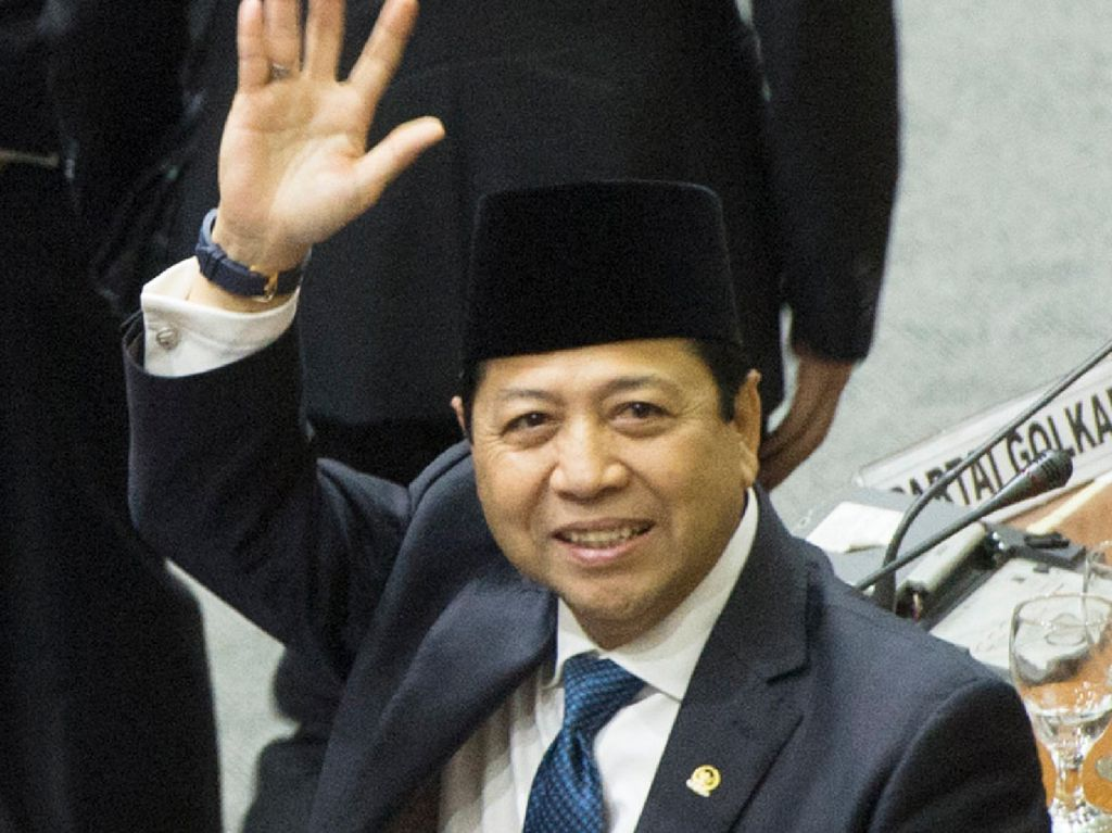 Kali Kedua Setya Novanto Mundur sebagai Ketua DPR