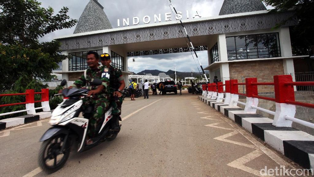Penjagaan Ketat di Perbatasan Indonesia-Timor Leste
