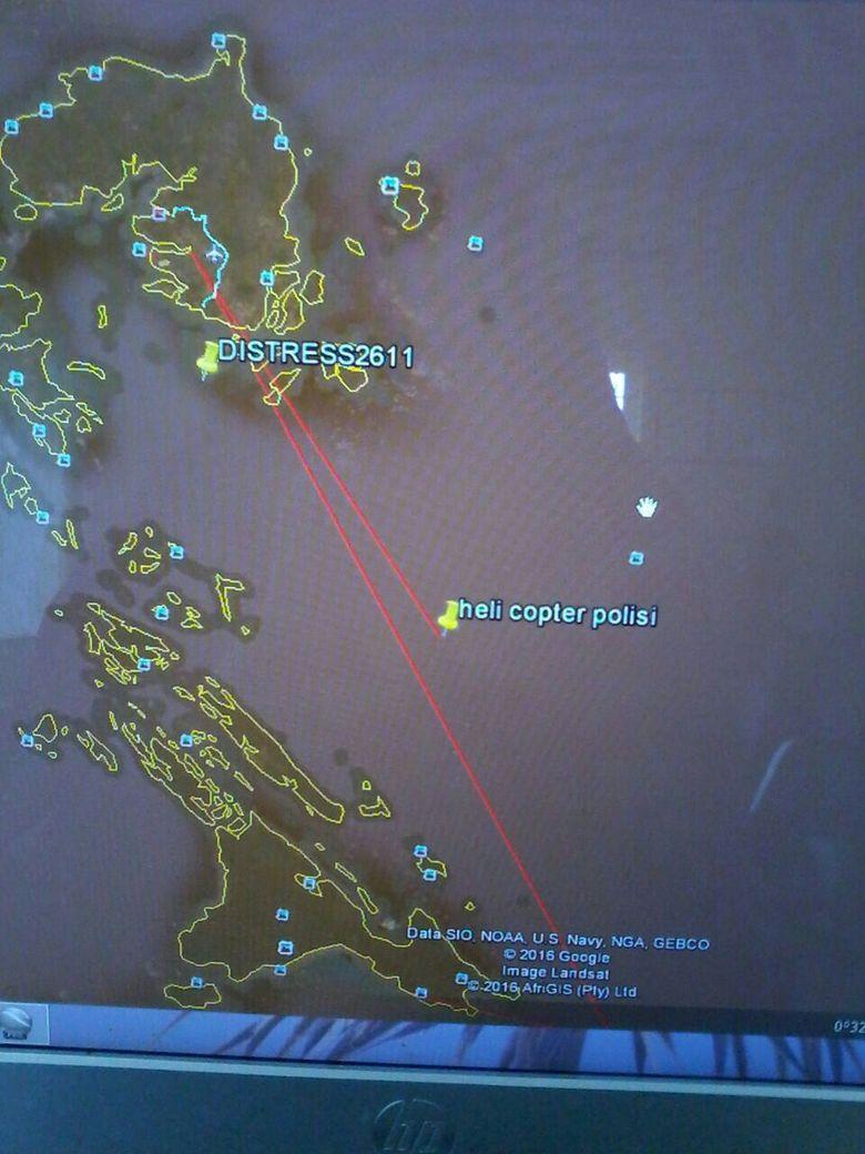 Ini Lokasi Pesawat Polri yang Jatuh di Kepri