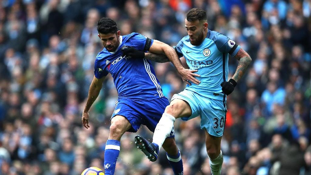Hantam Manchester City 3-1, Chelsea Kokoh di Puncak Klasemen