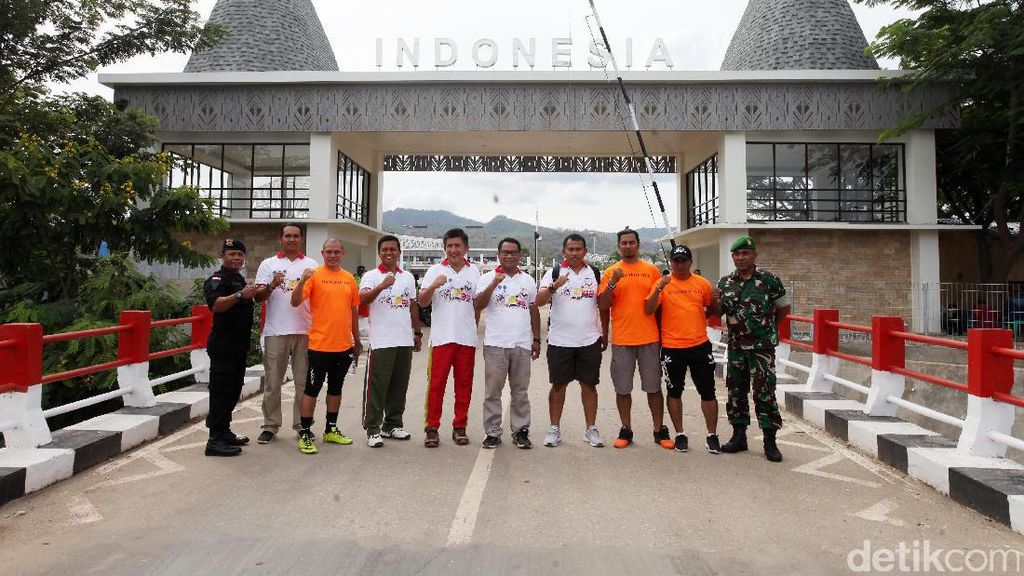 Ketua Komisi V DPR RI Tinjau Perbatasan RI - Timor Leste