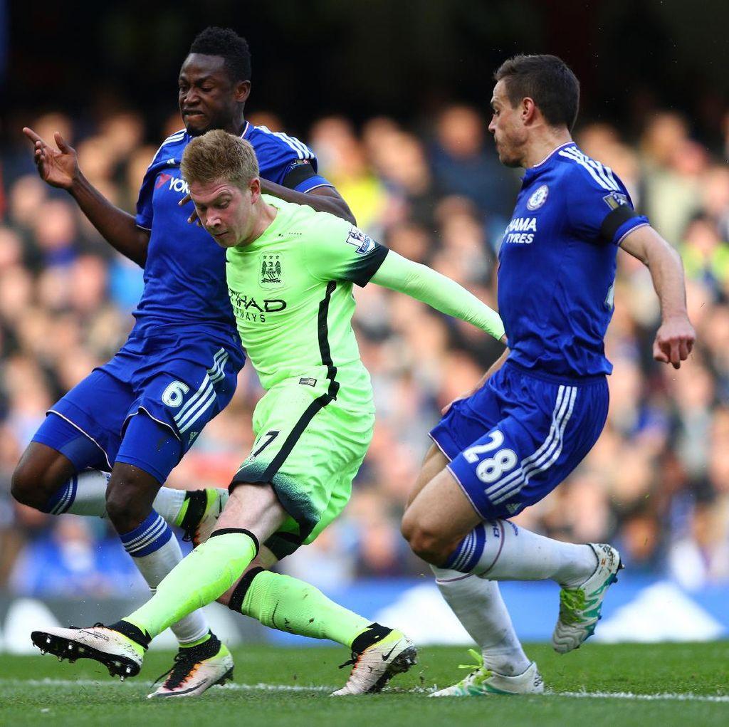 Conte: Sayang Sekali De Bruyne Tak Main di Chelsea