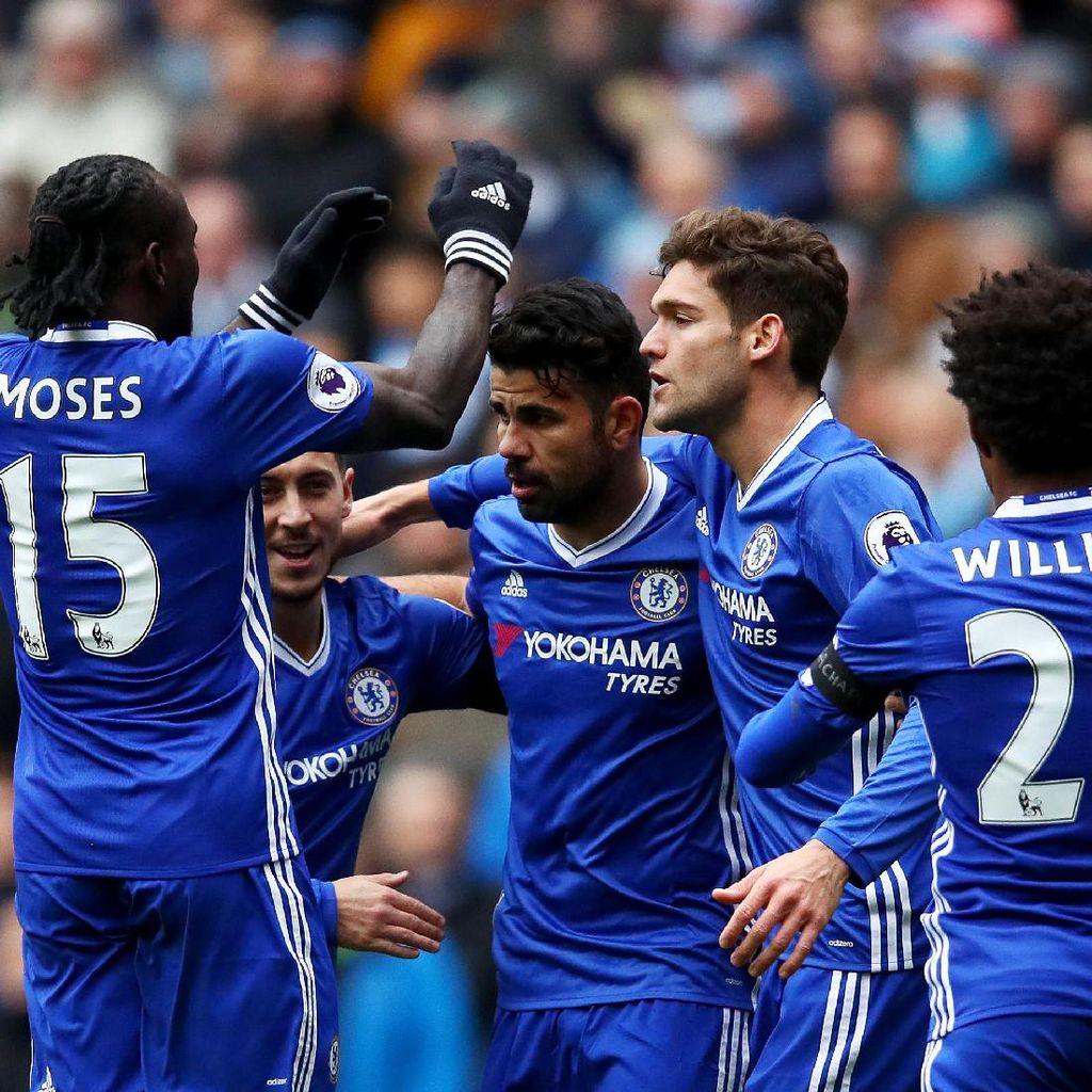 City Melewatkan Momentum, Chelsea yang Menangkapnya