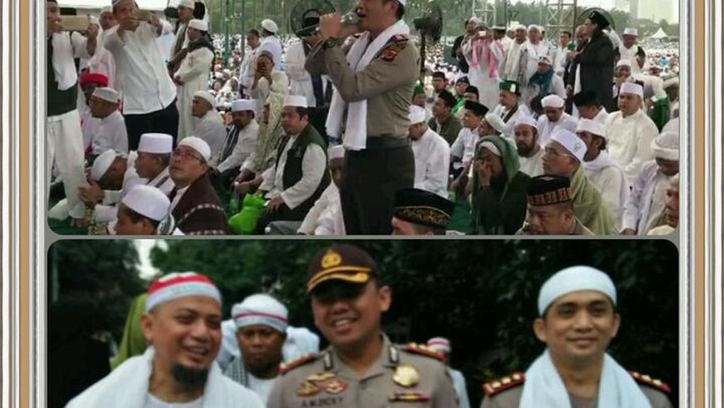 Pesan Kapolri untuk Perwira Muazin Aksi 2 Desember