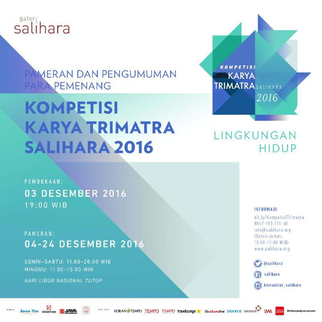 Kompetisi Seni Karya Trimatra 2016 Diumumkan Malam Ini