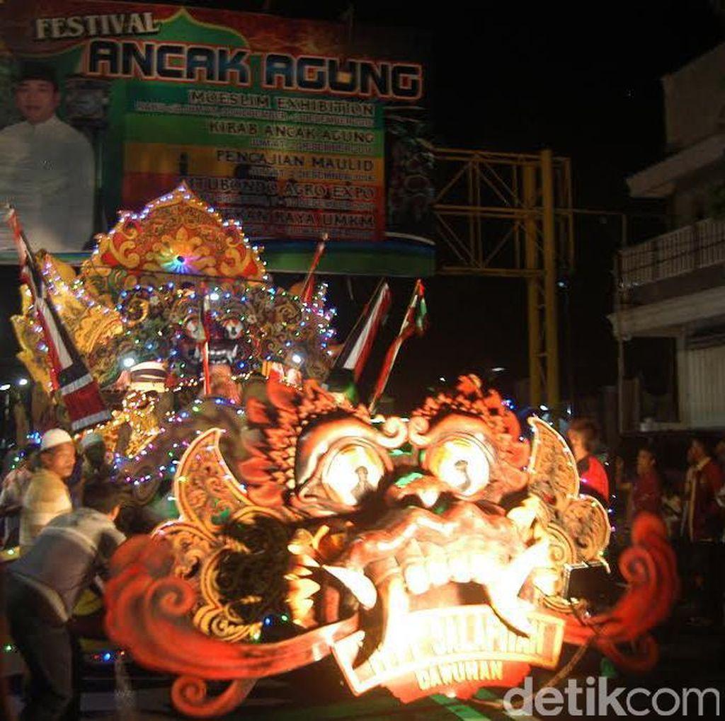 Seluruh SKPD Pemkab Situbondo Ramaikan Festival Ancak Agung