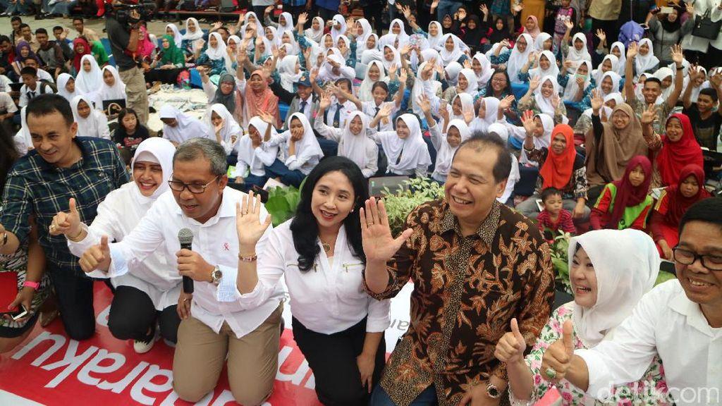 Hari Disabilitas, 50 Ribu Relawan di Makassar Ketik Buku untuk Tunanetra