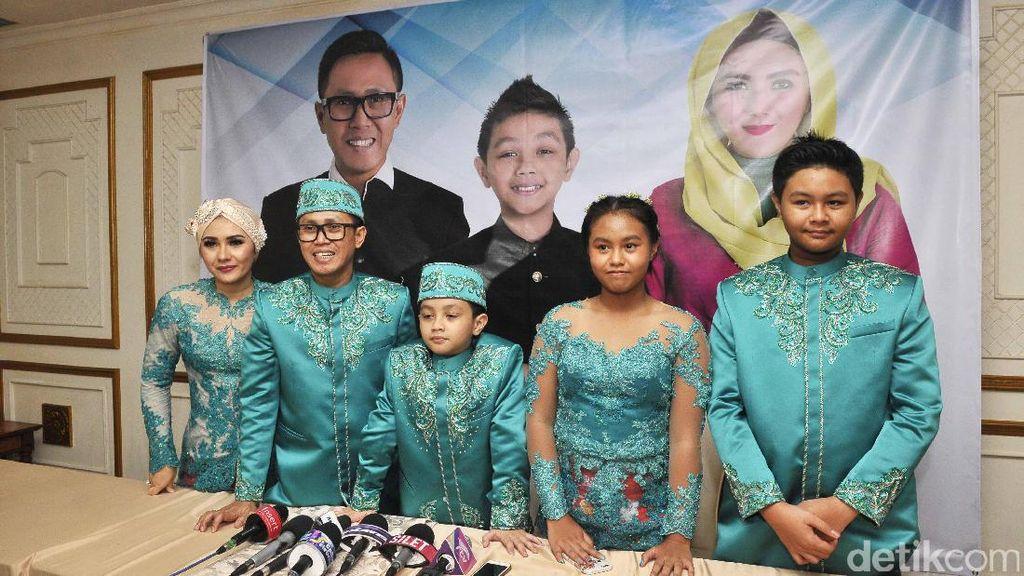Eko Patrio Pertemukan Jupe, Depe, Ayu Ting Ting, Luna Maya dan Gigi