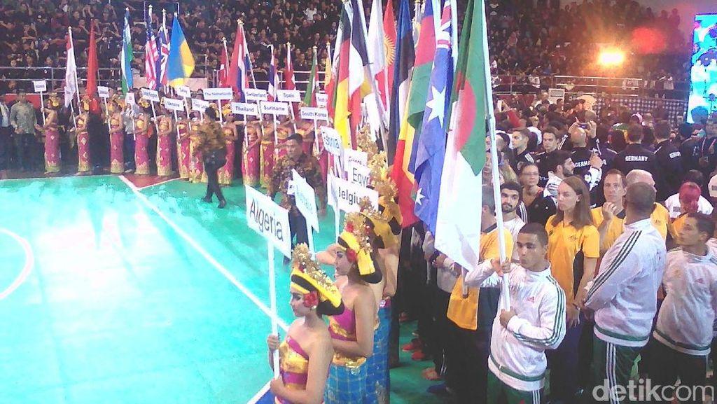 Kejuaraan Dunia Pencak Silat ke-17 di Bali Resmi Dibuka