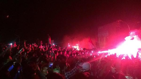 Indonesia vs Myanmar, Penonton Jangan Nyalakan Flare