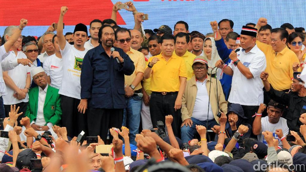Sejumlah Tokoh Parpol Hadiri Aksi Kita Indonesia