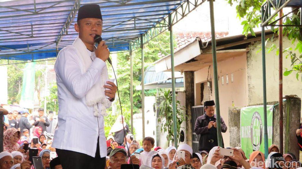 Penjelasan Agus Yudhoyono soal Janji Dana Rp 1 Miliar