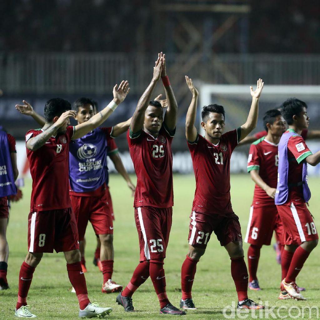 Tiga Pemain Timnas Indonesia Alami Cedera Ringan
