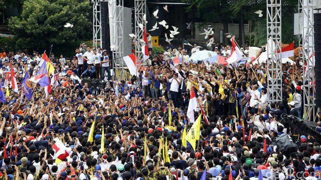 Pemprov DKI Juga Tegur Panitia Aksi Kita Indonesia Soal Atribut Parpol di CFD