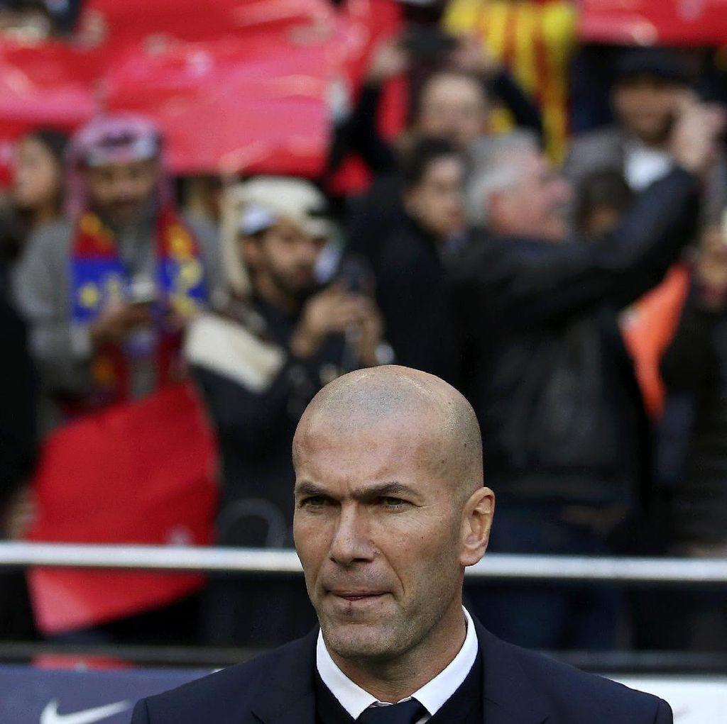 Zidane: Sekalipun di Camp Nou, Satu Poin Tetap Tak Terasa Seperti Kemenangan