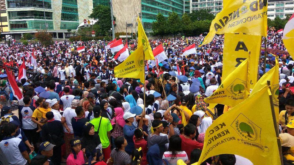 Plt Gubernur DKI: CFD Harus Bebas Kegiatan dan Atribut Partai Politik