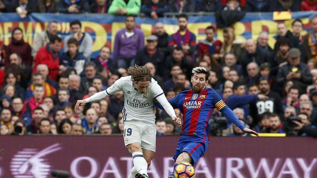 Modric Sebut Kegembiraan Hasil Imbang  di El Clasico Setara dengan Kemenangan