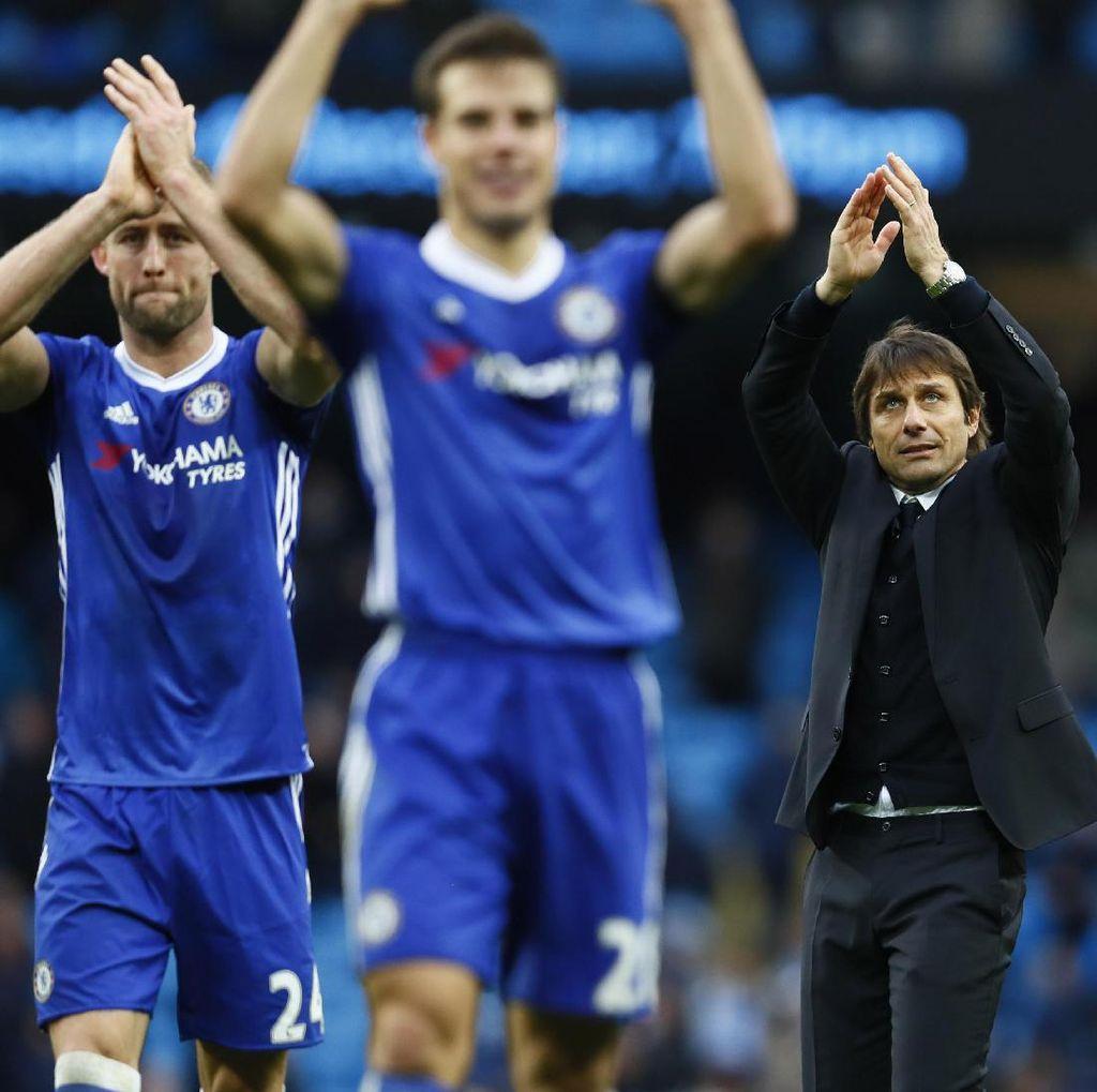 Conte Puas Chelsea Kalahkan Tim Paling Komplet
