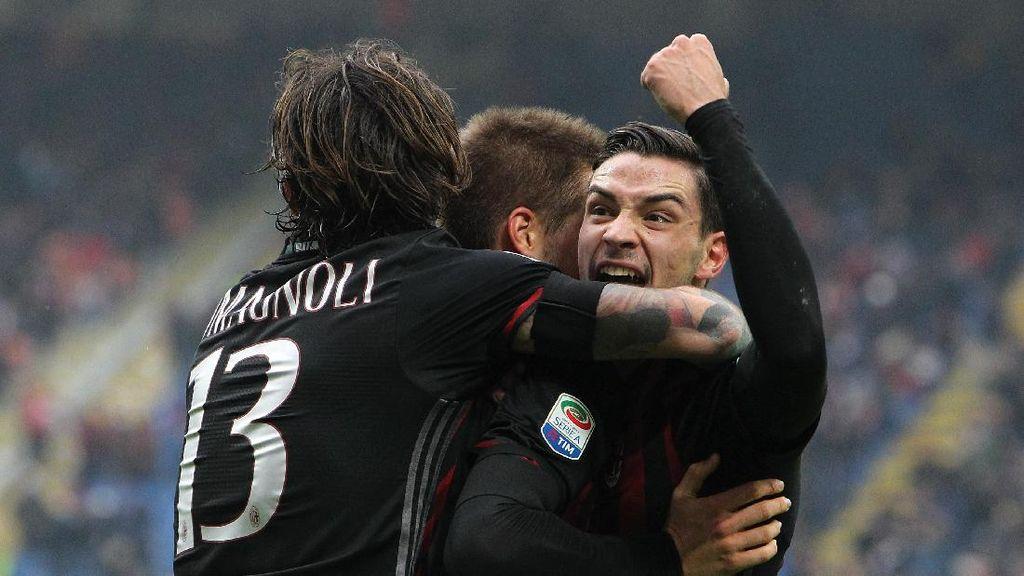 Milan Menang Susah Payah, Seperti Prediksi Montella