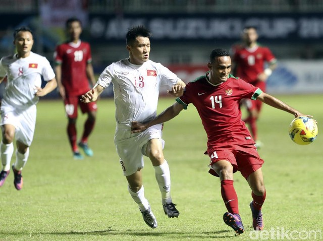 Indonesia Kalahkan Vietnam 2-1