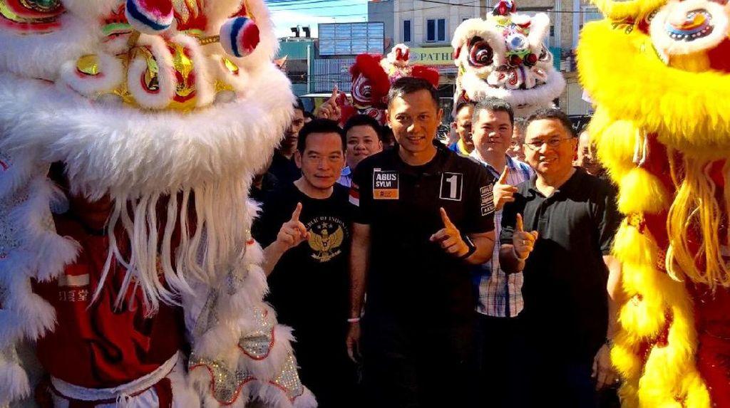 Sapa Komunitas Tionghoa, Agus-Sylvi Diminta Jamin Persamaan Hak Setiap Warga