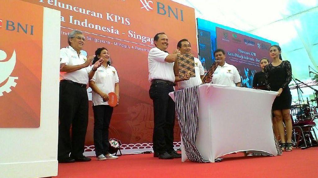 BNI Bikin Kartu Khusus untuk TKI di Singapura