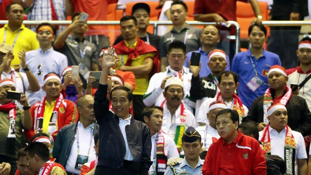 Ucapkan Selamat Untuk Timnas, Jokowi: Terus Berprestasi Untuk Merah Putih