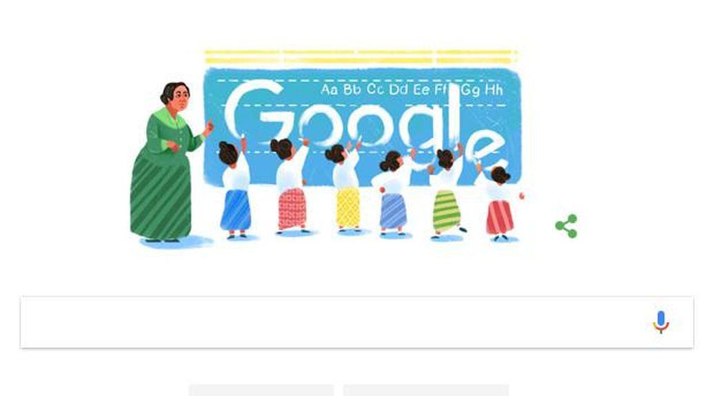 Google Peringati Ultah Pahlawan Nasional Dewi Sartika